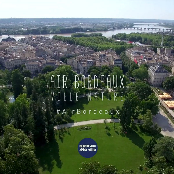 Air Bordeaux, ville nature
